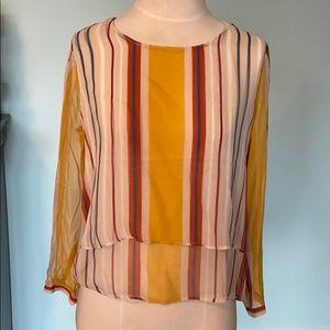 New Anthropologie Maeve silk blouse